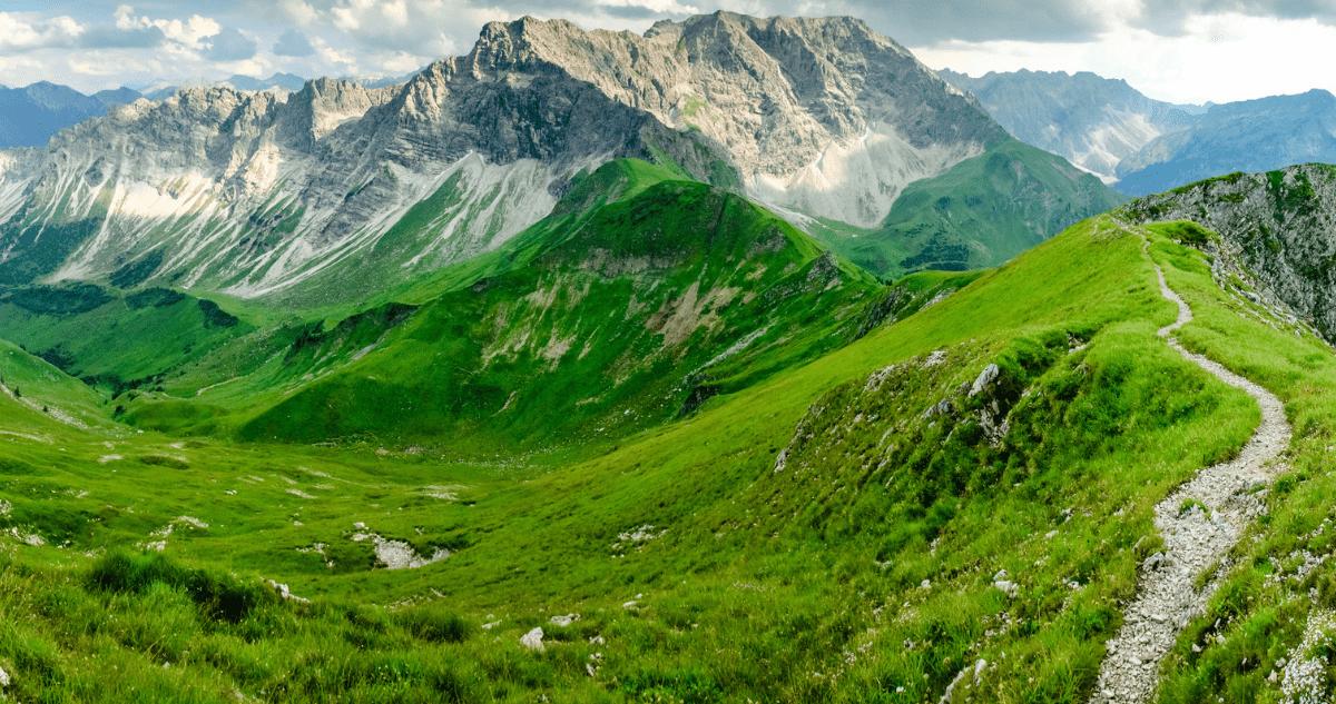 GR54 alpes sentier
