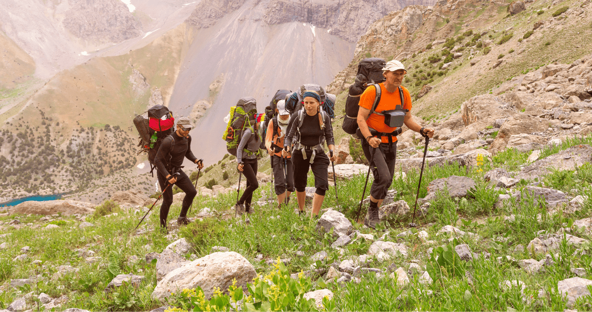 Alpes randonneurs