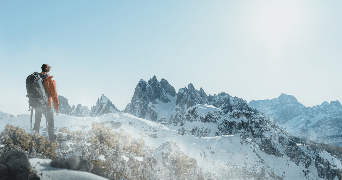 randonnée alpes neige