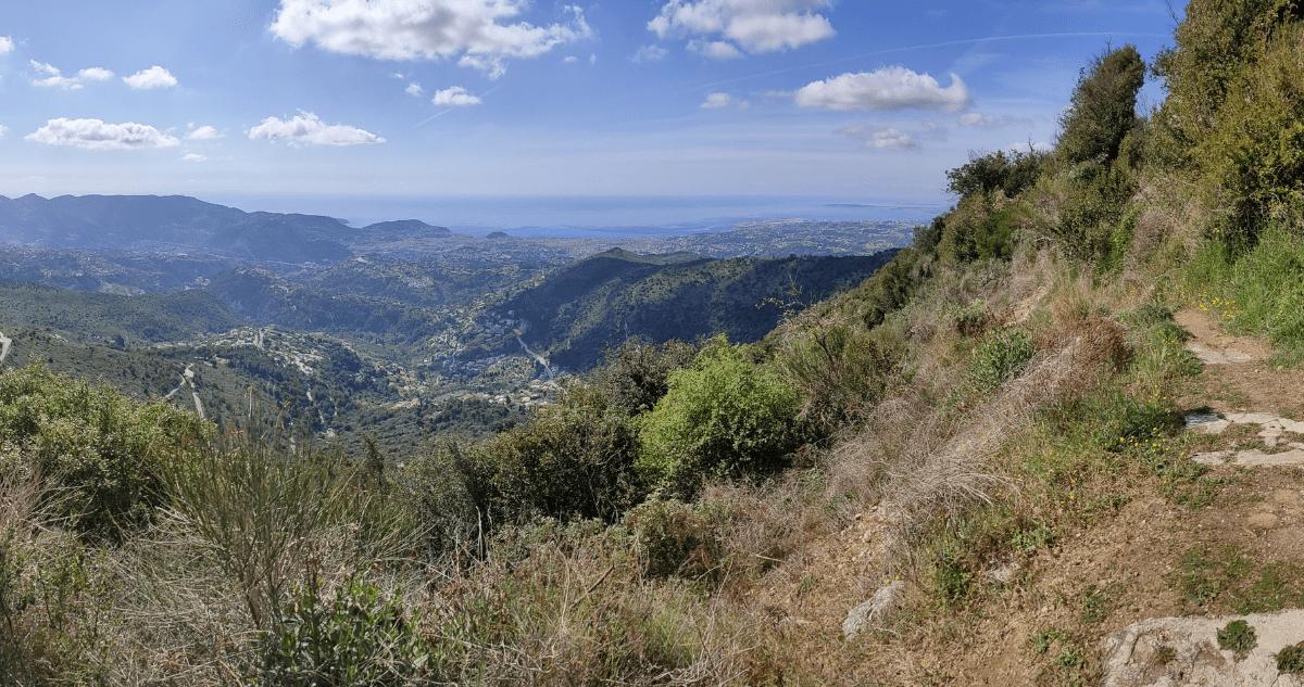 Nice Mont Chauve Randonnée