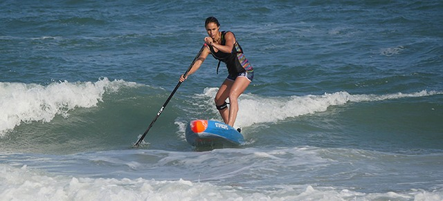 Stand Up Paddle Race Olivia Piana